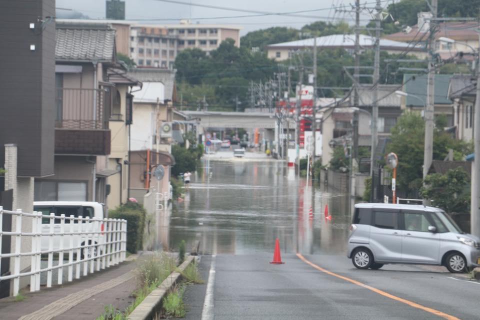 7月の豪雨災害募金について