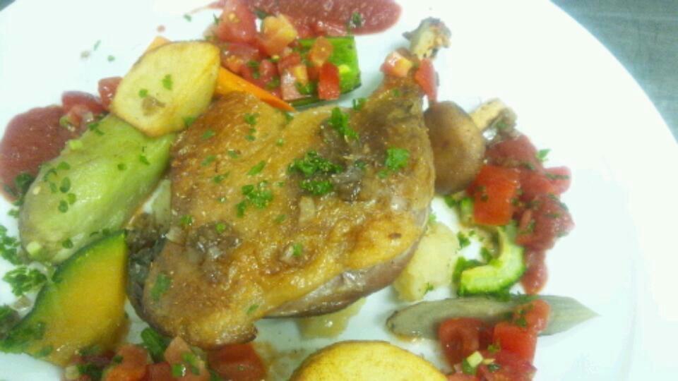 11月の料理教室テーマ『鶏モモ肉・砂肝のコンフィ』